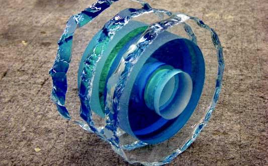 glass onzichtbaar lijmen